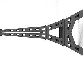 3D asset Paris Eiffel Tower Cartoon