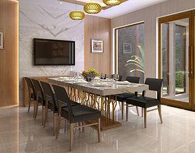 3D model Diningroom villa