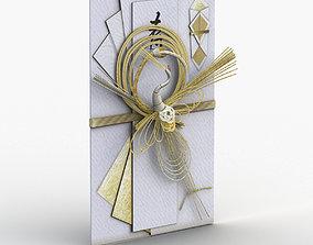 Japanese Mizuhiki 3D