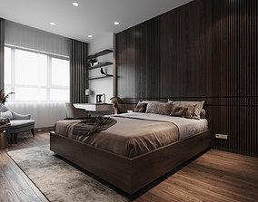 3D model grandpa bedroom scene