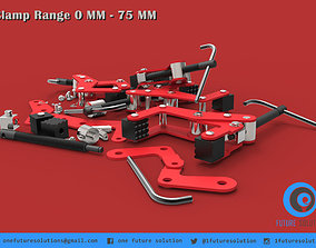 Clamp Range 0 MM - 75 MM 3D