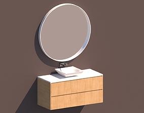 Bathroom Furniture 3D model furniture