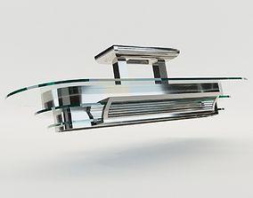Lustre Nizza - Art Deco style 3D chromate-brass