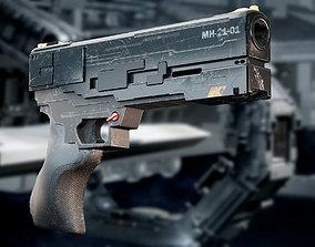 weapon concept 3D model