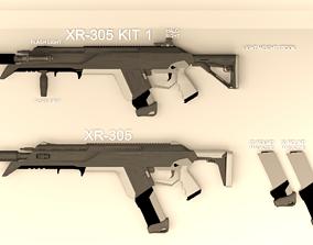 XR-305 RIFLE 3D model