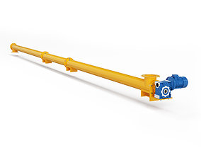 3D Screw conveyor DEMIX CM ITALTECH