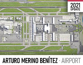 Santiago Airport 3D model
