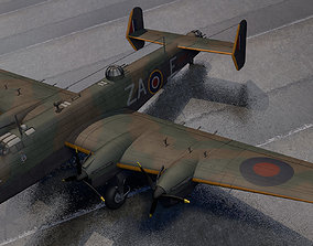 3D model Handley Page Halifax Mk-2