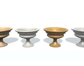 Flowerpot A 3D asset game-ready