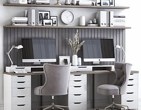 3D Office workplace 45