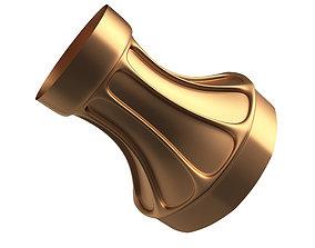 3D model low-poly Column Capital