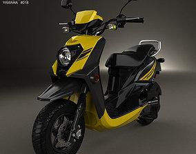 3D model Yamaha Zuma 50 FX 2013