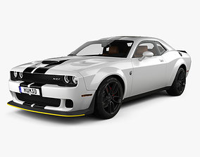 3D Dodge Challenger SRT Hellcat WideBody with HQ interior