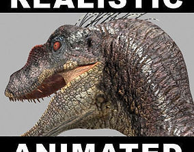 The Ultimate Raptor - 3d model rex animated