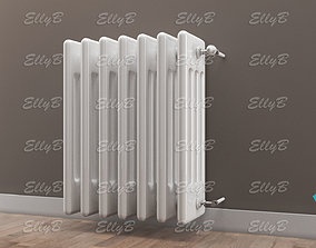 Radiator with Thermostatic Valve 3D