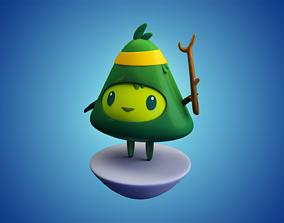 3D model Character Cartoon Fantasy Tree Jungle