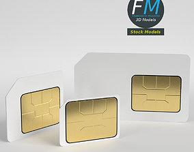 3D SIM cards