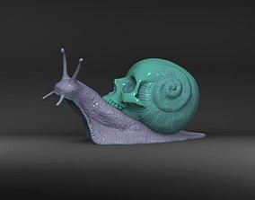 3D print model Snail Skull Snull