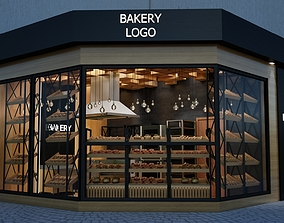 3D asset Bakery and pastry shop