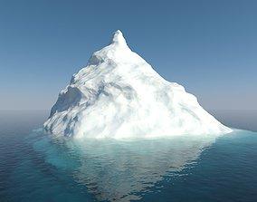 exterior 3D model Iceberg