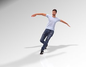 12 Quality Dancing Animation with Man 3D Model animated