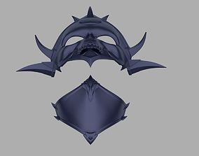 3D printable model Princess Kitana Kahn mask from Mortal 1