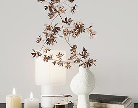 3D Autumn decorative set