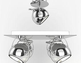 Lamp IDEAL LUX LUNARE 3D model