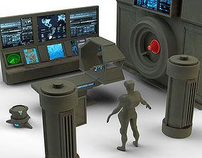 Military laboratory set 3D