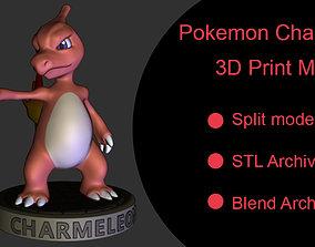 Pokemon Charmeleon 3D print model