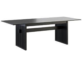 Lattice Dining Table by Ariake 3D model