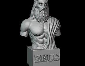 Zeus god bust 3D printable model