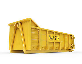 Waste Container 3D model