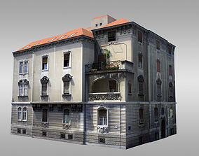 Old Baroque Villa 3D model