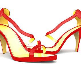3D asset high heel