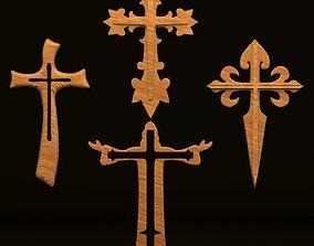 3D model Crosses crucifix