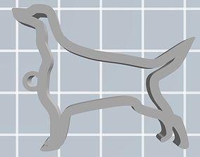 Irish setter keychain 3D printable model