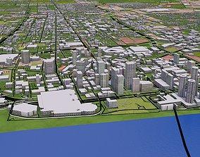 Denver City USA 3D asset