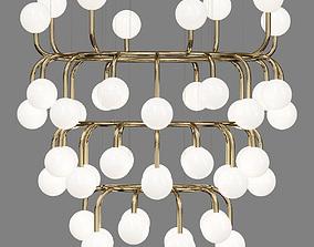 LUUM chandelier 3D model