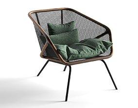 Colony Armchair lounge-chair 3D model