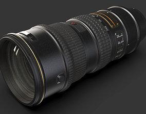 Camera lens - Nikon 70-200mm 3D