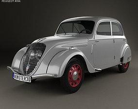 3D Peugeot 202 Berline 1938
