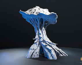 Alien Plant Mushroom 3D printable model