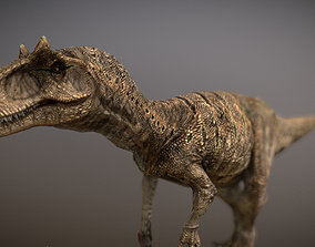 3D model animated Dinosaur Allosaurus Fragilis