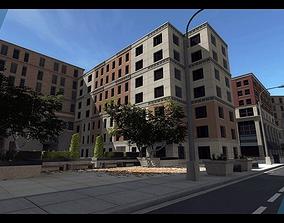 Urban City 3D asset