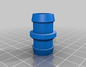 Parametric hose joiner 15 mm 3D print model