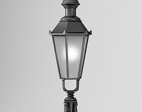 Street Lamp Old Munich - street lighting 3D model