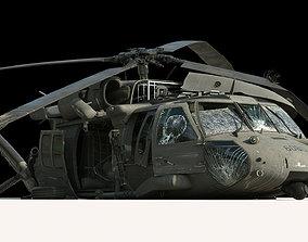 3D Black Hawk Wreck