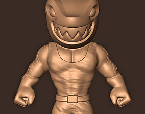 KING SHARK SUICIDE SQUAD KILL THE 3D printable model 1