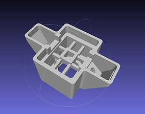 Arduino Colour Sensor And LED Casing 3D printable model 1